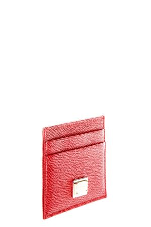 DAUPHINE LEATHER CREDIT CARD HOLDER FW 2017 DOLCE & GABBANA | 34 | BI0330A100180303