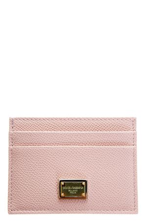 DAUPHINE LEATHER CREDIT CARD HOLDER FW 2017 DOLCE & GABBANA | 5 | BI0330A10018H402