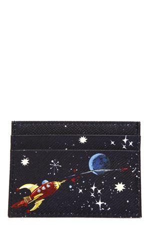 NUOVO RINASCIMENTO DAUPHINE LEATHER CREDIT CARD HOLDER FW 17 DOLCE & GABBANA | 5 | BI0330AI816HBH50