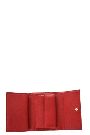 LEATHER WALLET WITH LOGO TAG fw 2017 DOLCE & GABBANA | 34 | BI0923A100180303