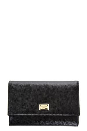 LEATHER WALLET WITH LOGO TAG FW 2017 DOLCE & GABBANA | 34 | BI0923A100180999