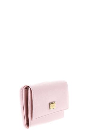 DAUPHINE PINK LEATHER WALLET FW 2017 DOLCE & GABBANA | 34 | BI0924A10018H402