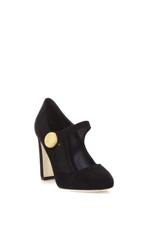 MARY JANE SUEDE PUMPS FW 2017 DOLCE & GABBANA | 68 | CD0883A127580999