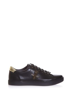 SNEAKERS RICAMATE IN PELLE LONDON AI 2017 DOLCE & GABBANA | 55 | CS1475AB73189718