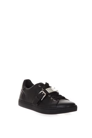 SNEAKERS LONDON IN PELLE CON FIBBIA AI 2017 DOLCE & GABBANA | 55 | CS1518A344487581