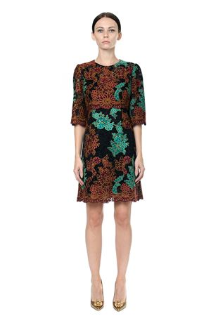 EMBROIDERED LACE DRESS FW 2017 DOLCE & GABBANA | 32 | F66C2THLMN6S8400