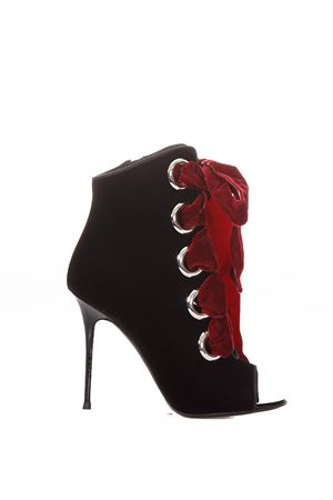 JEANNINE BOOT WITH LACE-UP DETAIL FW 2017 GIUSEPPE ZANOTTI | 52 | I770035VERONR001