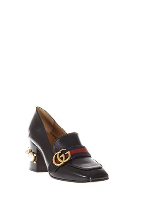 LEATHER MID-HEEL LOAFER FW 2017 GUCCI | 130 | 425943CQXM01061