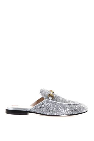 PRINCETOWN GLITTER COVERED SLIPPERS FW 2017 GUCCI | 130 | 432773KSP208106