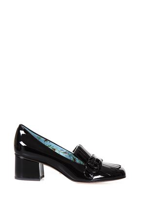 MARMONT PATENT LEATHER MID HEEL PUMP FW 2017 GUCCI | 48 | 474510BNC001000