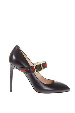 SYLVIE LEATHER PUMP FW 2017 GUCCI | 48 | 475085CQXS01060