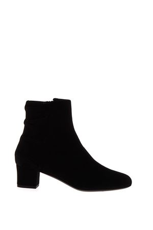 BLACK SUEDE ANKLE BOOTS FW 2017 LANVIN | 52 | FW-BOF10AKIPA-A1710