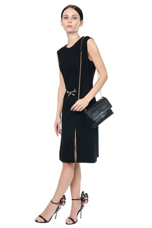 BLACK SWAN EMBELLISHED DRESS FW 2017 LANVIN | 32 | RW-DR238K3422-A1710