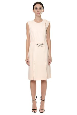 POWDER SWAN EMBELLISHED DRESS FW 2017 LANVIN | 32 | RW-DR238K3422-A1752