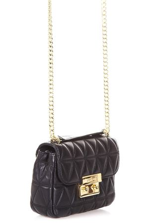 QUILTED LEATHER SHOULDER STRAP FW 2017 MICHAEL MICHAEL KORS | 2 | 30S7GSLL1LSM CHAIN SHLDR001