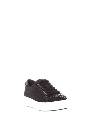 SNEAKERS POPPY CON APPLICAZIONI AI 2017 MICHAEL MICHAEL KORS | 48 | 43T7POFS1DPOPPY LACE UP001