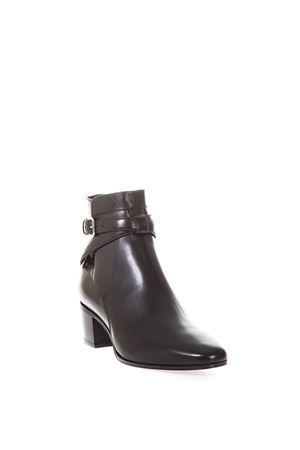 CALFSKIN POINTED ANKLE BOOTS SAINT LAURENT | 52 | 316237DWC001000