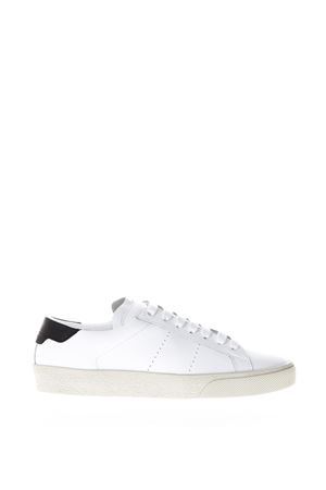 WHITE SL/06 CLASSIC COURT SNEAKERS SS18 SAINT LAURENT | 55 | 419195D26309061