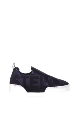 SNEAKERS BLU  IN ECO SUEDE CON LOGO AI 2017 STELLA McCARTNEY | 55 | 479008W1DT24166