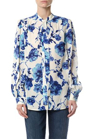 KIA BOW PRINTED SILK BLOUSE FW 2017 TORY BURCH | 9 | 44263KIA BOW496