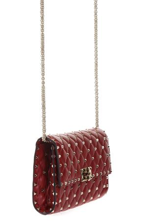 ROCKSTUD LEATHER SHOULDER BAG FW 2017 VALENTINO GARAVANI | 2 | NW2B0137NAP0RO