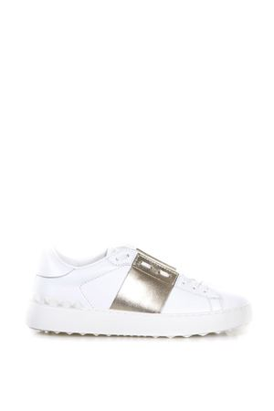 OPEN LEATHER SNEAKERS fw 2017 VALENTINO GARAVANI | 55 | NW2S0781FLRL71
