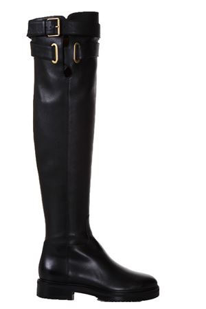 LEATHER KNEE LENGTH BOOTS FW 2017 VALENTINO GARAVANI | 52 | NW2S0D46EGB0NO