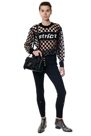 TOP STRICT MOTIVO CHECK AI 2017 ALEXANDER WANG | 16 | 1K271017Y1PULLOVER W995