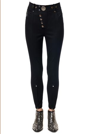 HIGH WAISTED LEGGINGS WITH MULTI-SNAP DETAIL ALEXANDER WANG | 8 | 1W274769E6HIGH WAISTED044