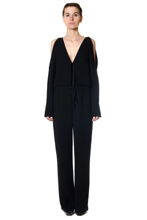 OPEN SHOULDER JUMPSUIT FW 2017 ALEXANDER WANG | 23 | 1W277041P2COLD SHOULDER044