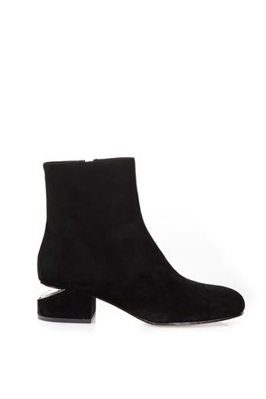KELLY SUEDE ANKLE BOOTS FW 2017 ALEXANDER WANG | 52 | 3099B0095LKELLY BLACK001
