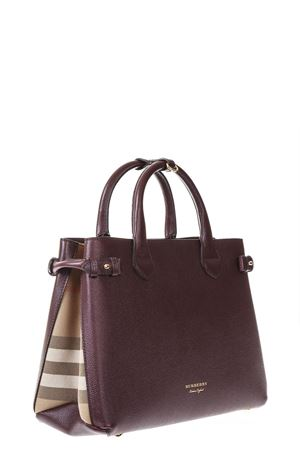 BORSA HOUSE CHECK IN PELLE ai 2017 BURBERRY | 2 | 4023697199