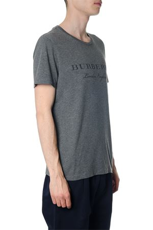 GREY BURBERRY COTTON T-SHIRT FW 2018 BURBERRY | 15 | 4050750108
