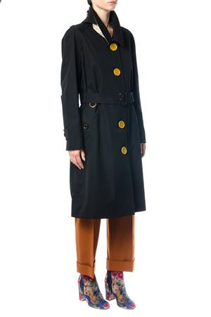 OVERSIZED YELLOW BUTTONS GABARDINE TRENCH COAT FW 2017 BURBERRY | 31 | 4055696107