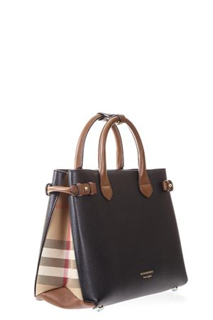 CHECKHOUSE & LEATHER BANNER BAG FW 2017 BURBERRY | 2 | 4055832109