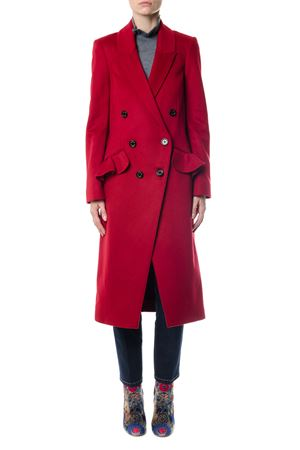 WOOL-CASHMERE BLEND DOUBLE BREASTED COAT FW 2017 BURBERRY | 31 | 4057461108