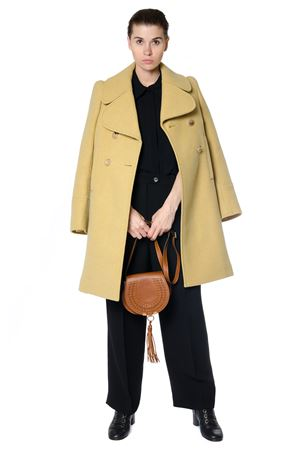 OVERSIZED COLLAR DOUBLE BREASTED COAT FW 2017 CHLOÉ | 31 | 17AMA0617A072NR37S