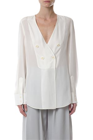SILK WRAPPED BLOUSE  fw 2017 CHLOÉ | 13 | 17EHT5617E004NR107