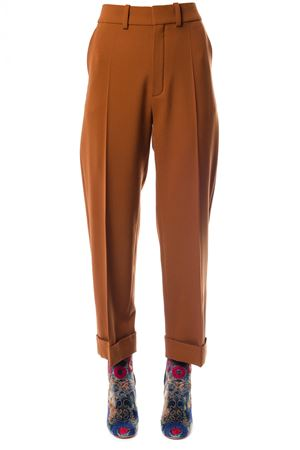 HIGH-WAISTED VIRGIN WOOL PANTS FW 2017 CHLOÉ | 8 | 17HPA2717H062NR237