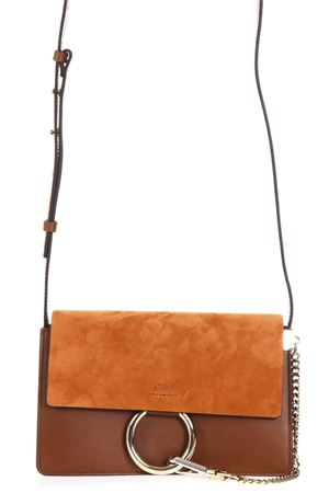 FAYE LEATHER AND SUEDE SHOULDER BAG FW17 CHLOÉ | 2 | 3S1127H20BBN