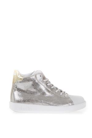 SNEAKERS HIGH-TOP IN PELLE GLITTER AI 2017 DIADORA HERITAGE | 55 | 201.172555GAME H MID SILVER 96009