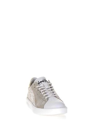 SNEAKERS LOW-TOP IN PELLE GLITTER ai 2017 DIADORA HERITAGE | 55 | 201.172557GAME H W SILVER96009