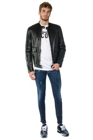 GIACCA BIKER IN PELLE AI 2017 DSQUARED2 | 27 | S71AM0857SY0751900