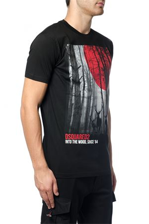 T-SHIRT INTO THE WOODS AI 2017 DSQUARED2   15   S71GD0556S22427900
