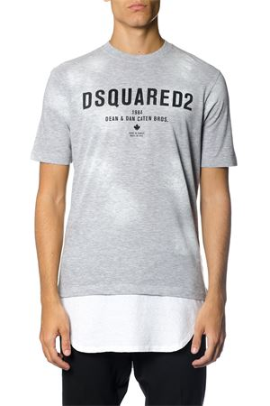 DOUBLE LAYER T-SHIRT FW 2017 DSQUARED2 | 15 | S71GD0587S22146857M