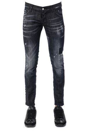 JEANS CLEMENT IN DISTRESSED DENIM AI 2017 DSQUARED2 | 4 | S71LB0372S30357900