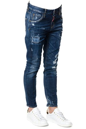 JEANS COOL GIRL IN DENIM DI COTONE AI 2017 DSQUARED2 | 4 | S72LB0012S30342470
