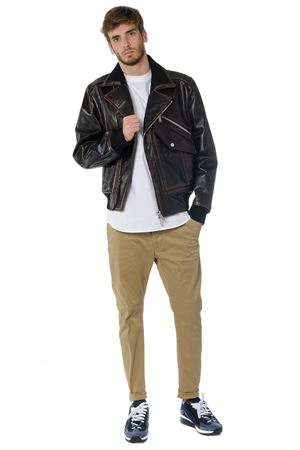 GIACCA BOMBER IN PELLE AI 2017 DSQUARED2 | 27 | S74AM0743SY0560143