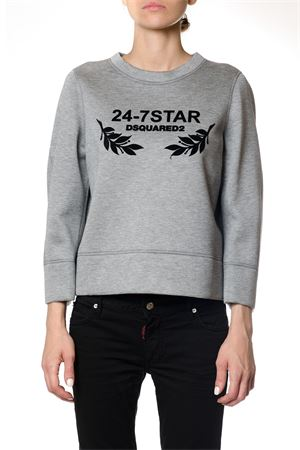 FELPA 24-7 STAR IN NEOPRENE AI 2017 DSQUARED2 | 19 | S75GU0113S22744852M