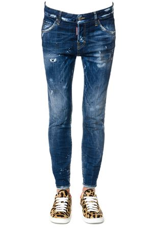 JEANS BOYFRIEND IN DENIM AI 2017 DSQUARED2 | 4 | S75LA0914S30342470